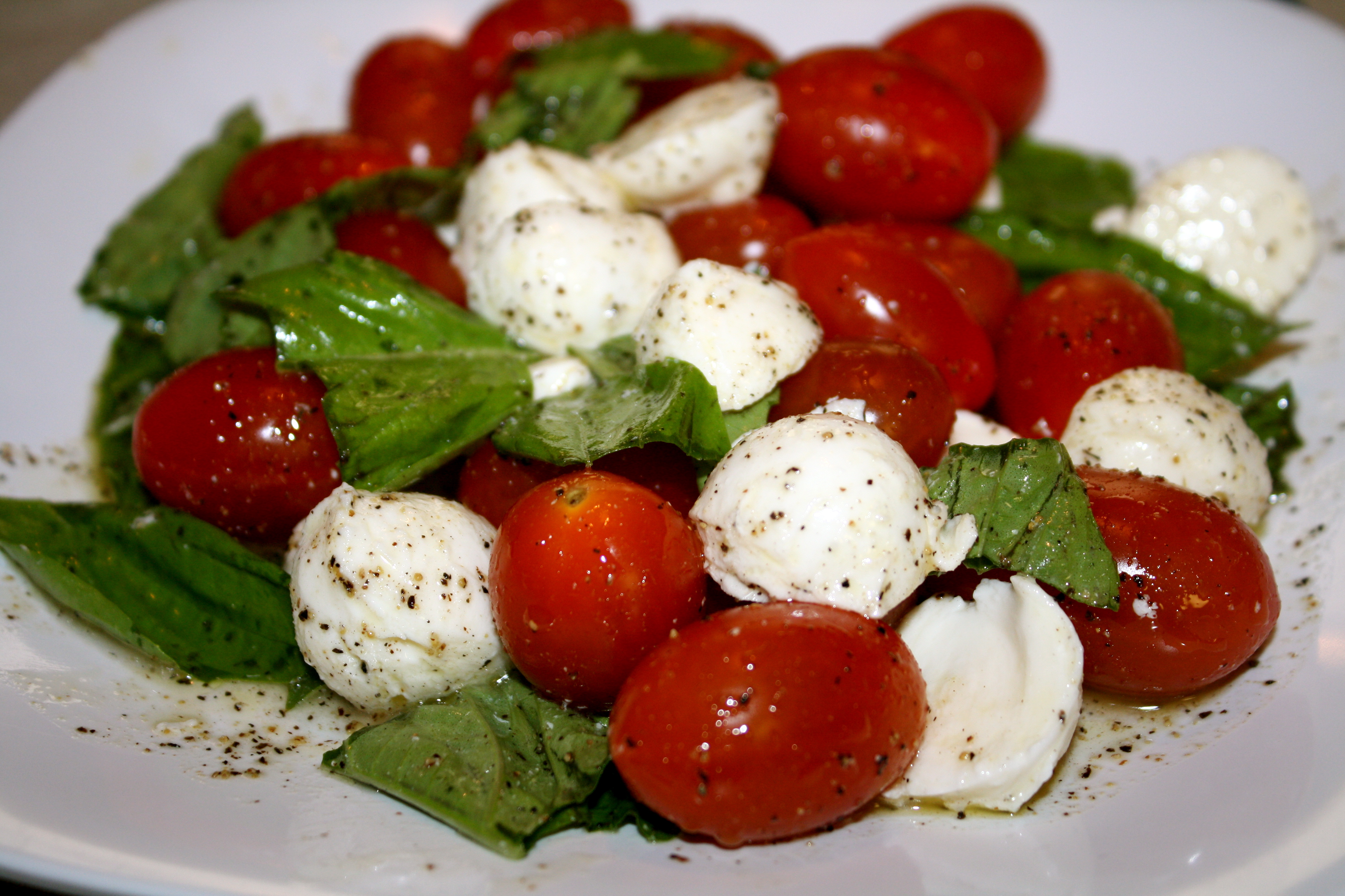 Cherry Tomato Caprese Salad – The Quotable Kitchen