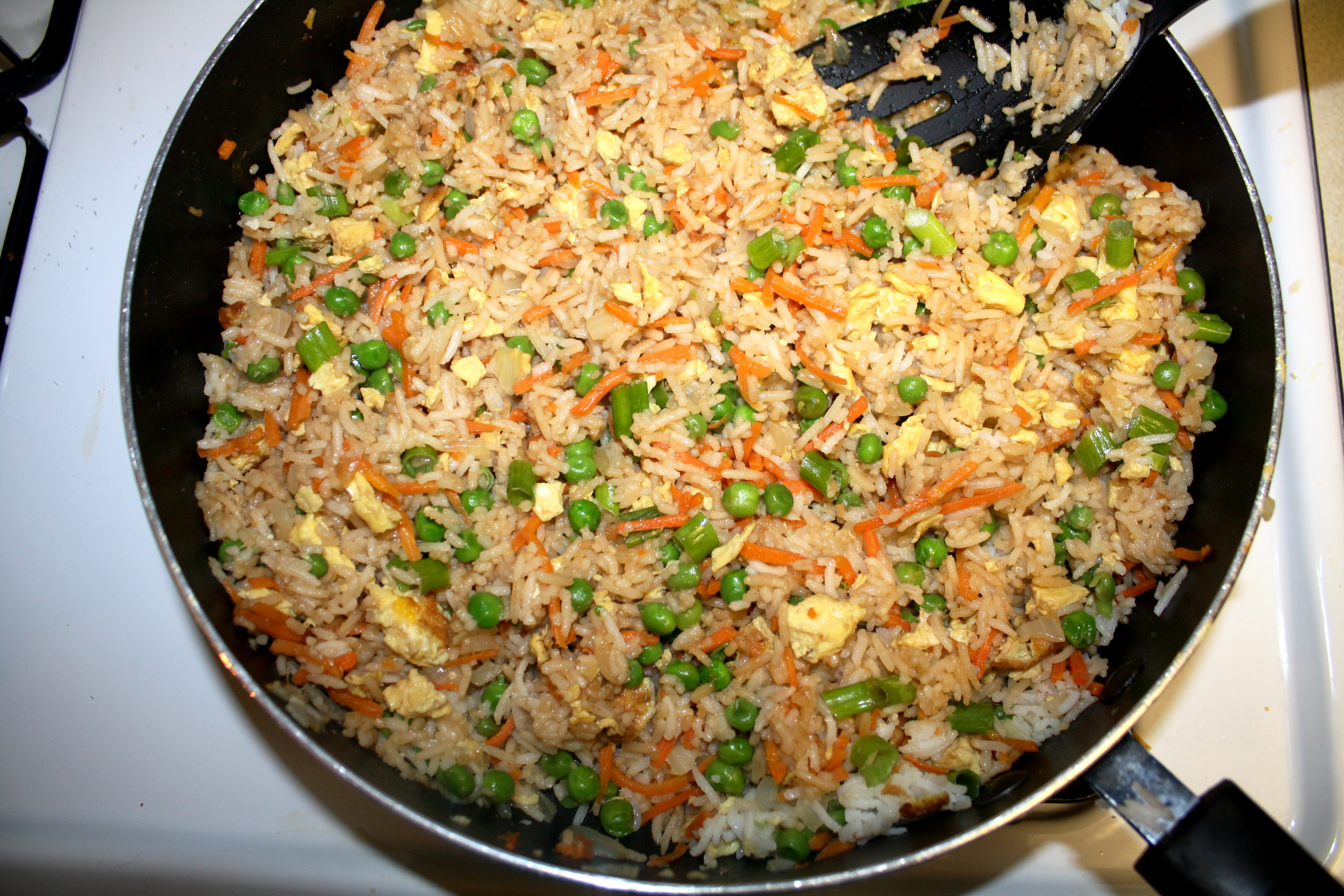 Vegetable fried rice the quotable kitchen an added bonus this recipe only takes 30 minutes to make its also a great use for leftover rice ccuart Image collections