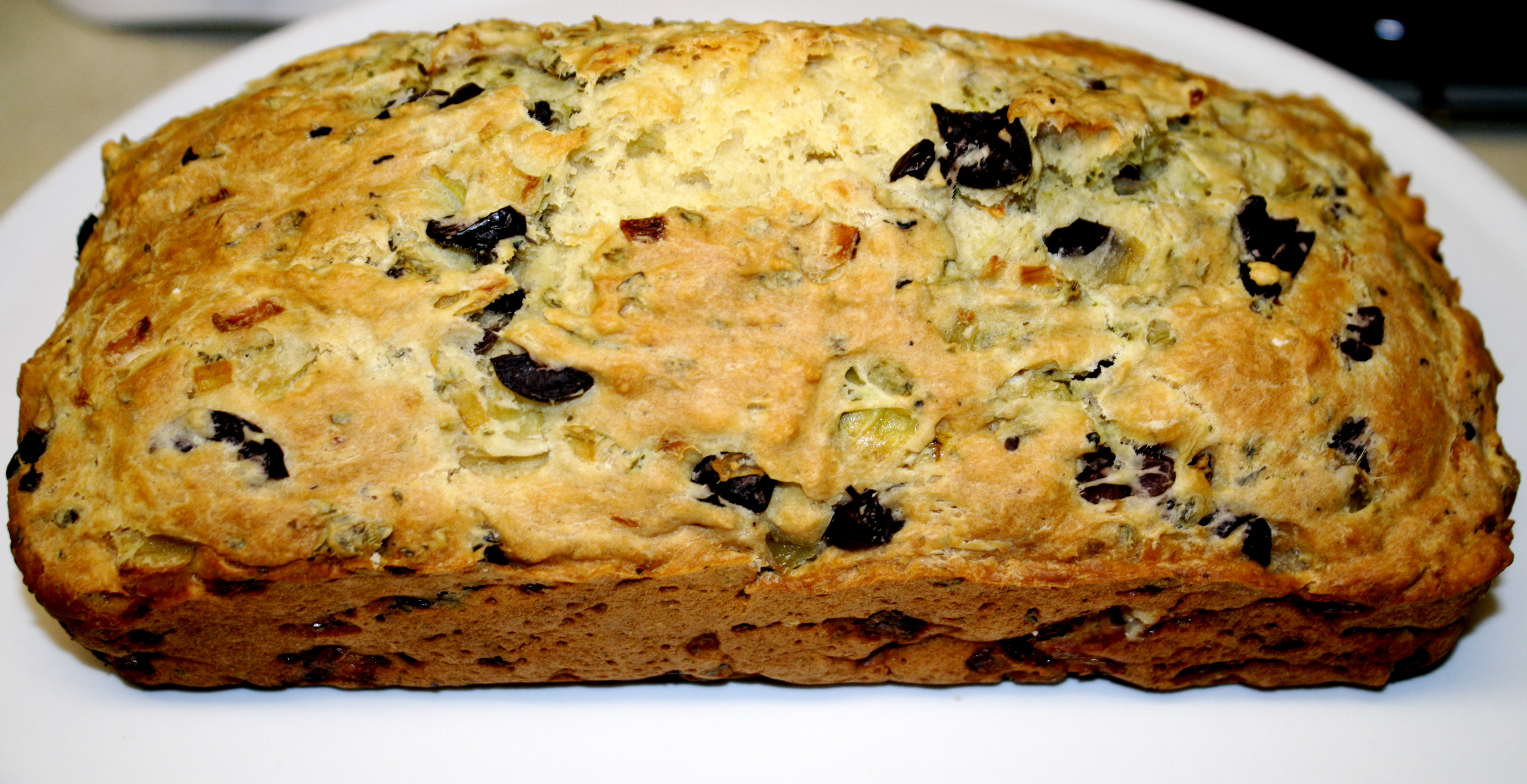 Kalamata Olive Bread with Oregano – The Quotable Kitchen