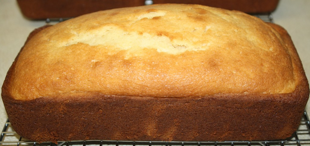 Single Loaf Pound Cake Recipe