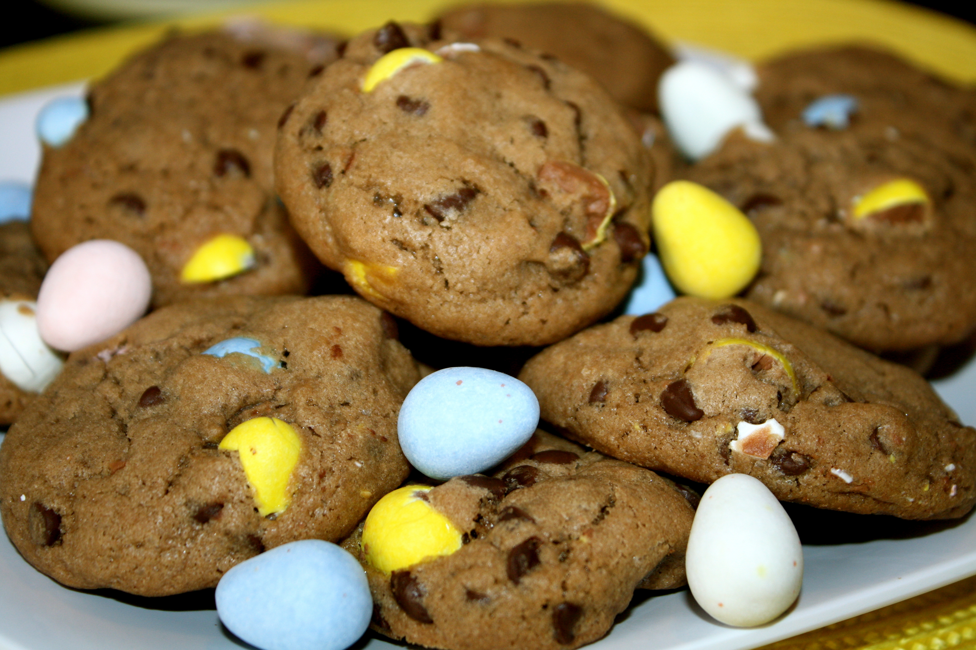 This Recipe Incorporates Chopped Up Cadbury Mini Eggs Right Into The Batter Along With Some Mini Chocolate Chips Chocolate Pudding Mix It Creates One