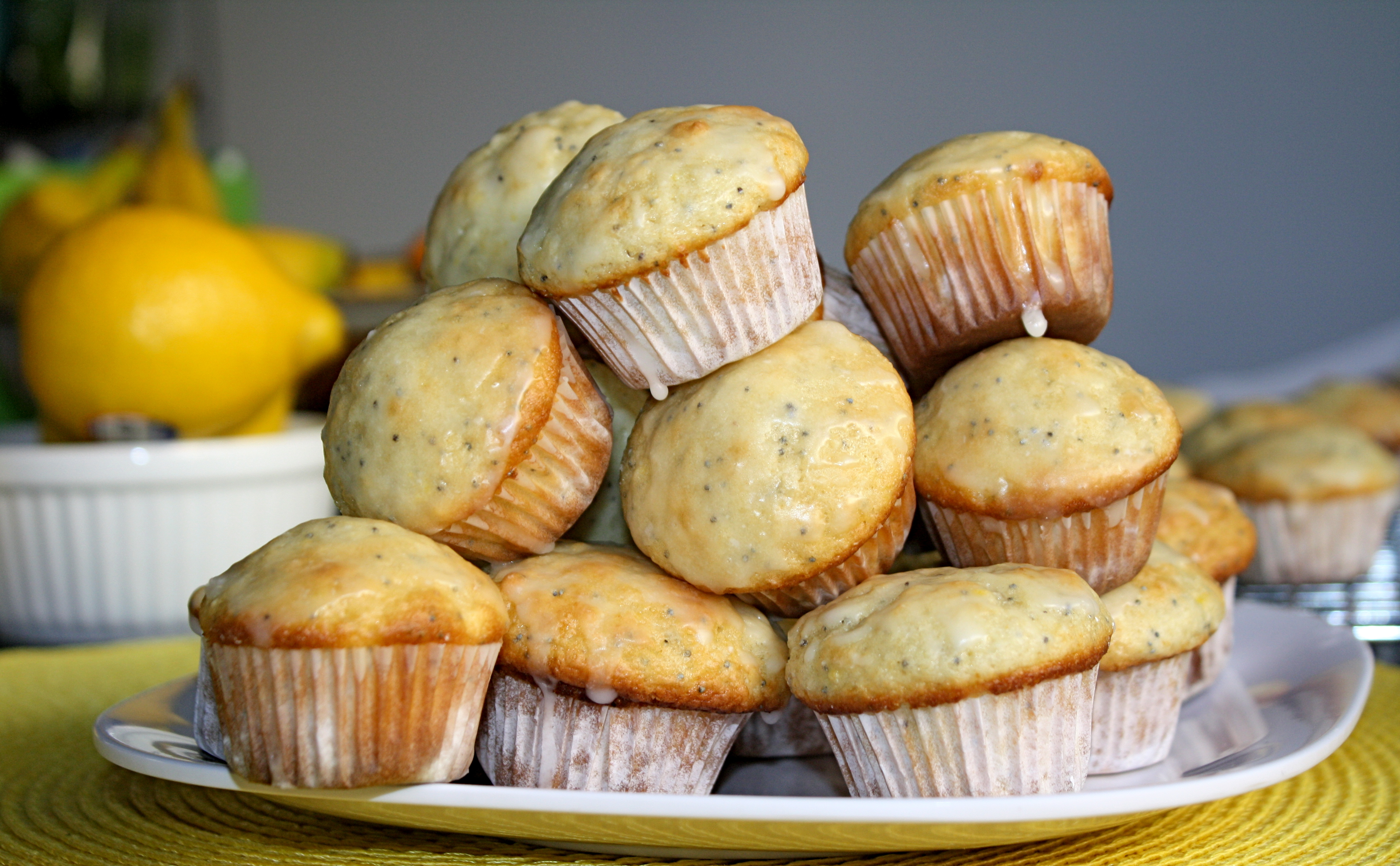 Mini Glazed Lemon Poppy Seed Muffins – The Quotable Kitchen