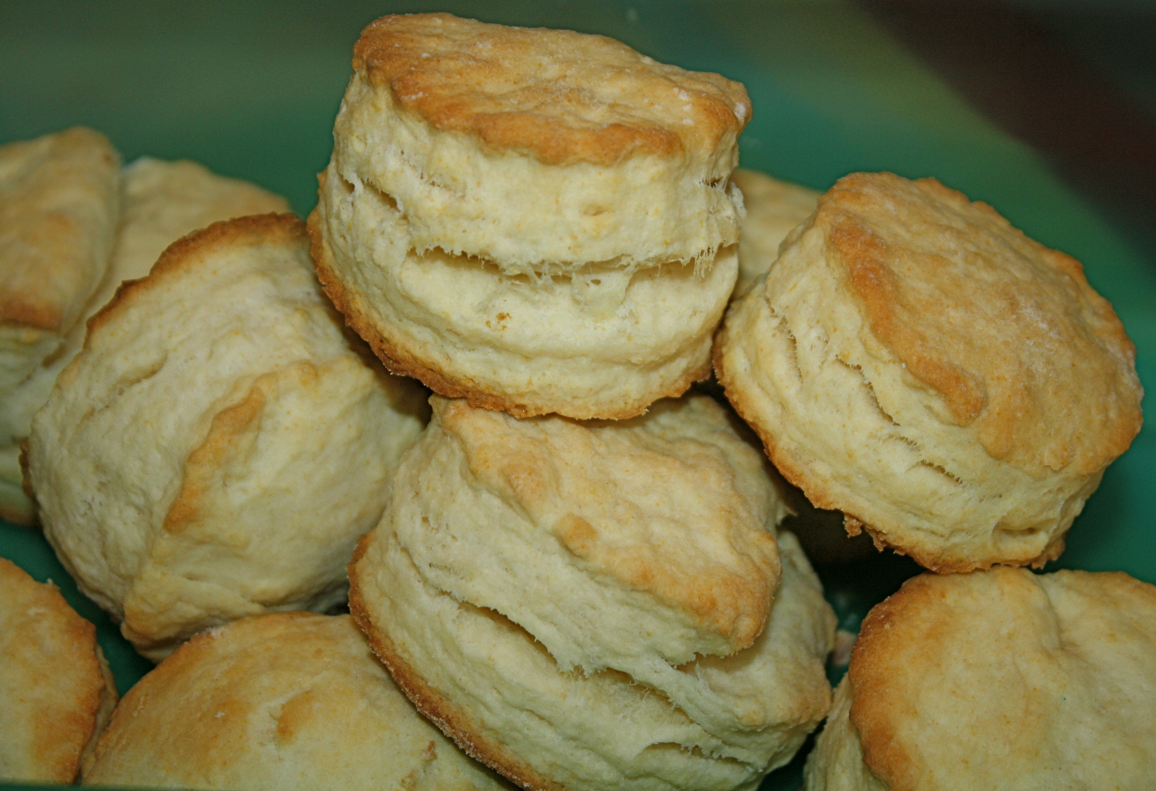 Layered Buttermilk Biscuits | The Quotable Kitchen