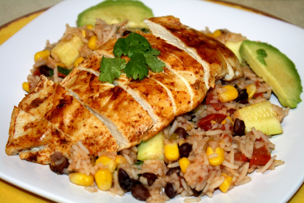 Chicken black beans and rice recipes