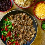 Turkey Taco Bowls + 5 Reasons to Start Meal Prep